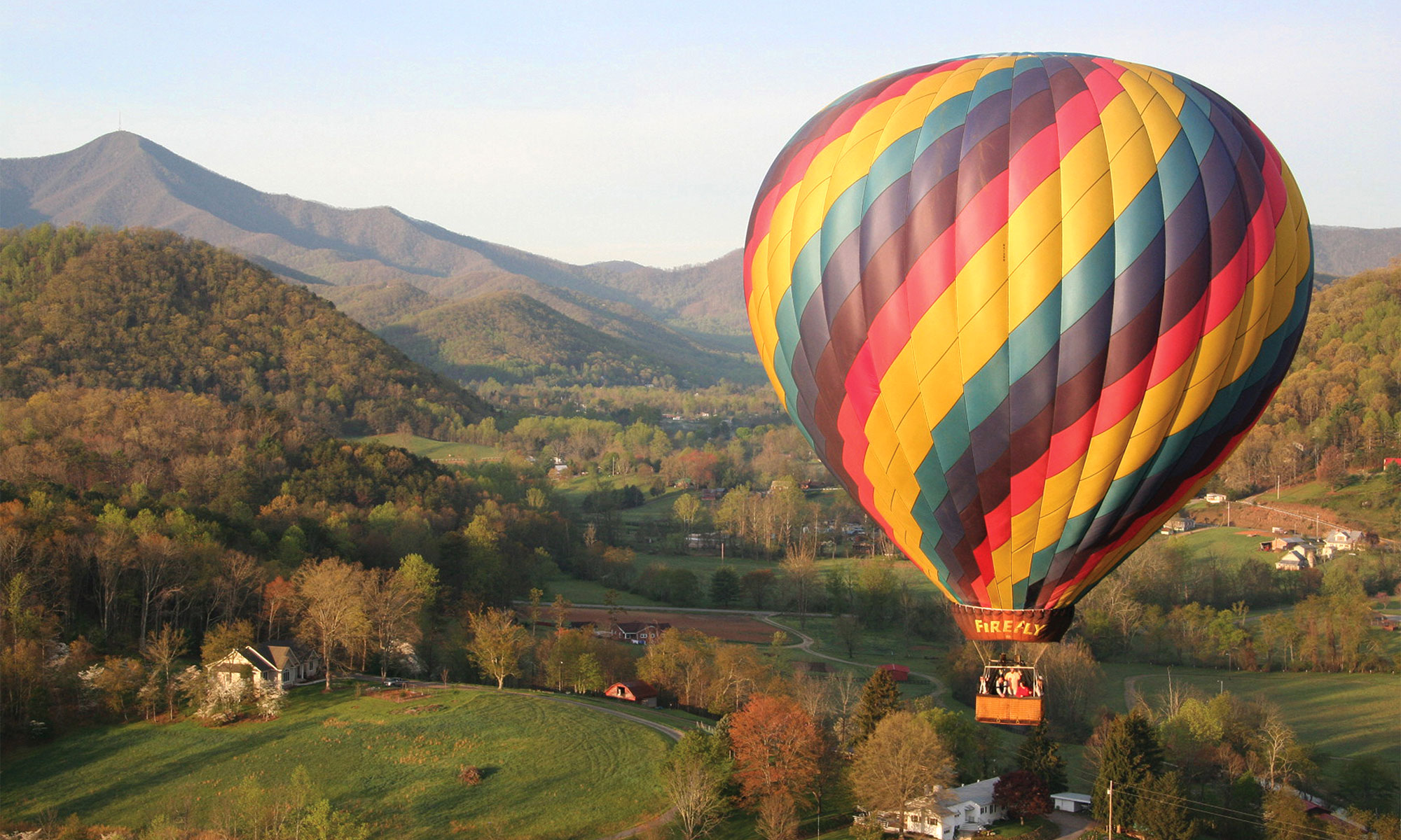 Mt Pisgah Balloon in Spring